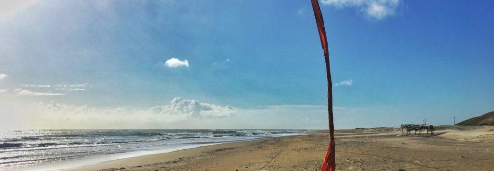 Beautiful beach in Mundau
