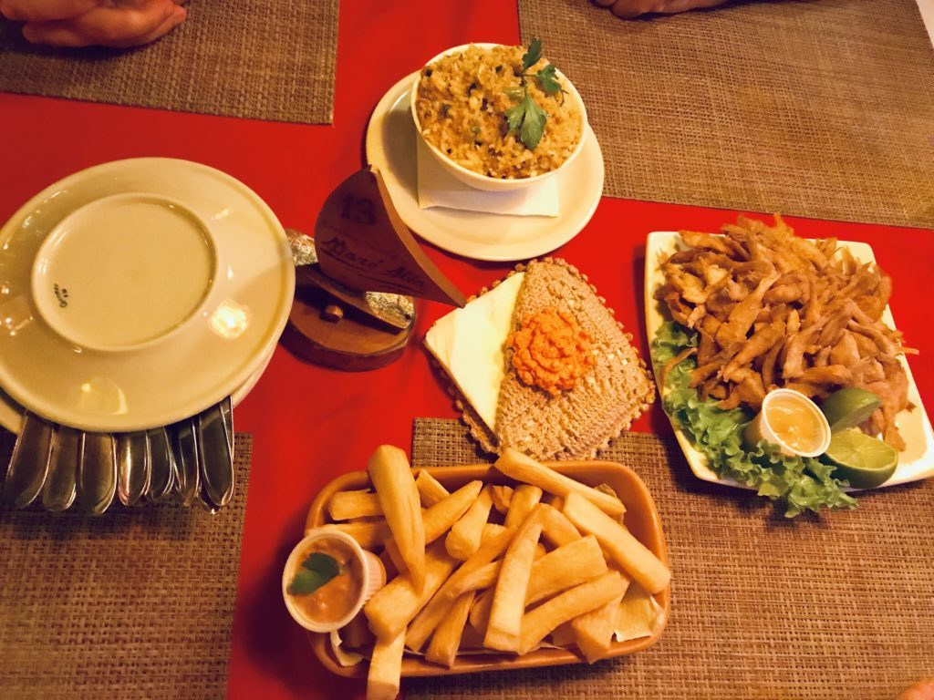 Typical Brazilian food